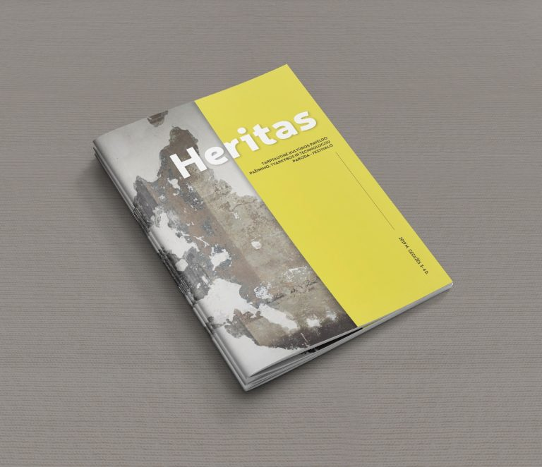 """Read more about the article """"Heritas"""" publication design"""