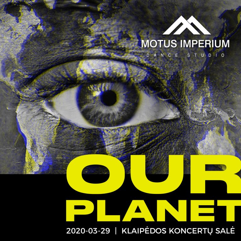 """OUR PLANET"" event design"