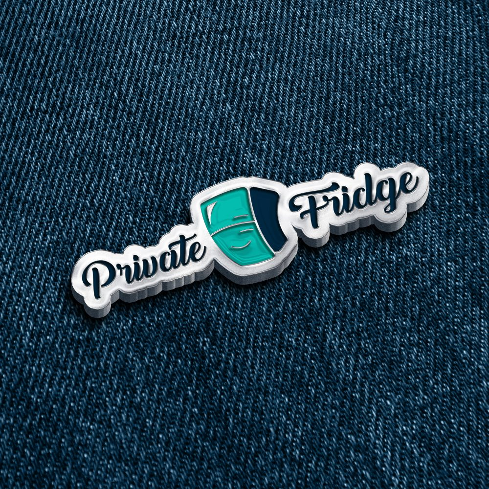 Private Fridge logo design